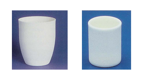 High Form and Cylindrical Alumina Crucibles