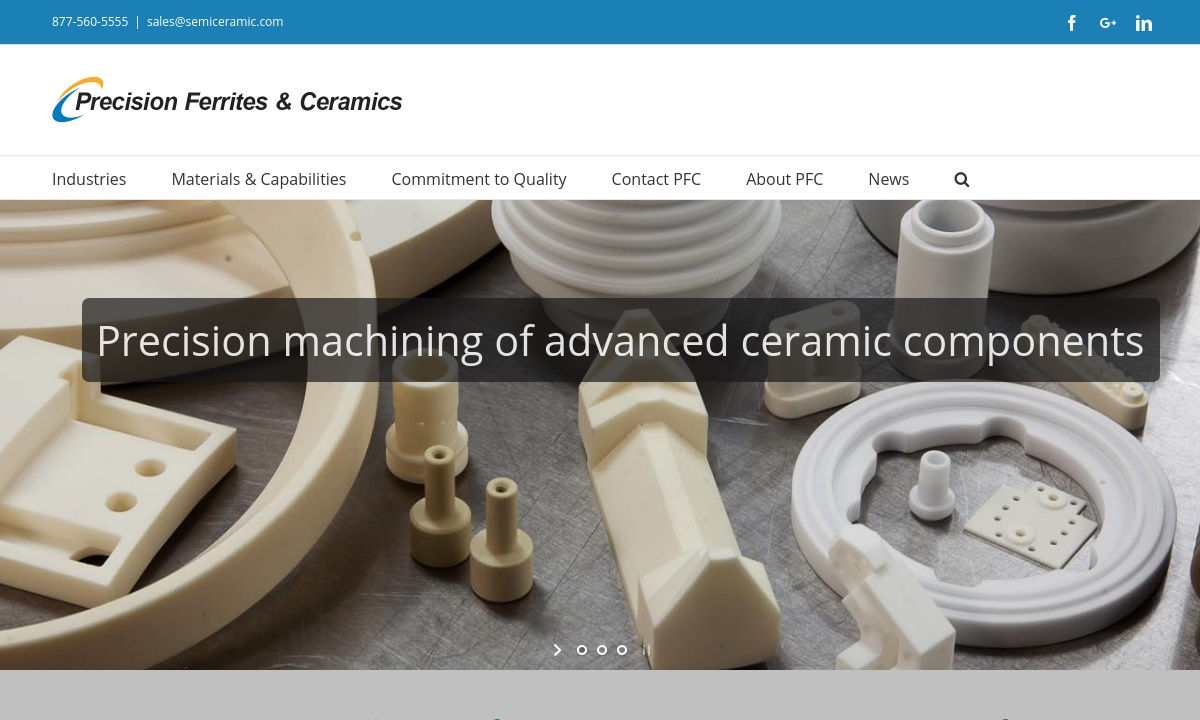 Precision Ferrites & Ceramics Inc.