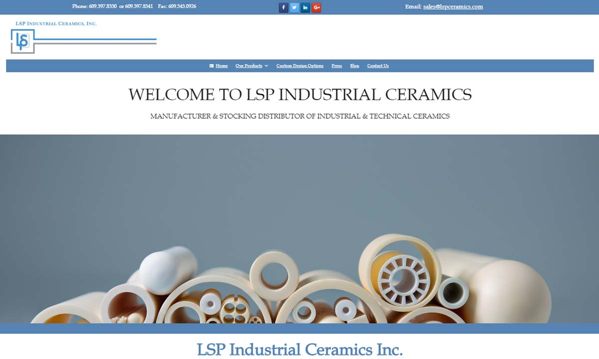 LSP Industrial Ceramics, Inc.
