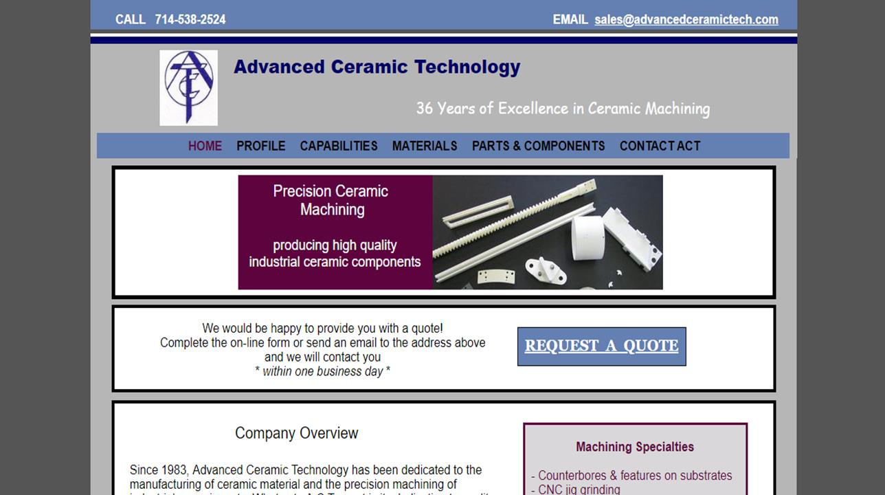 Advanced Ceramic Technology