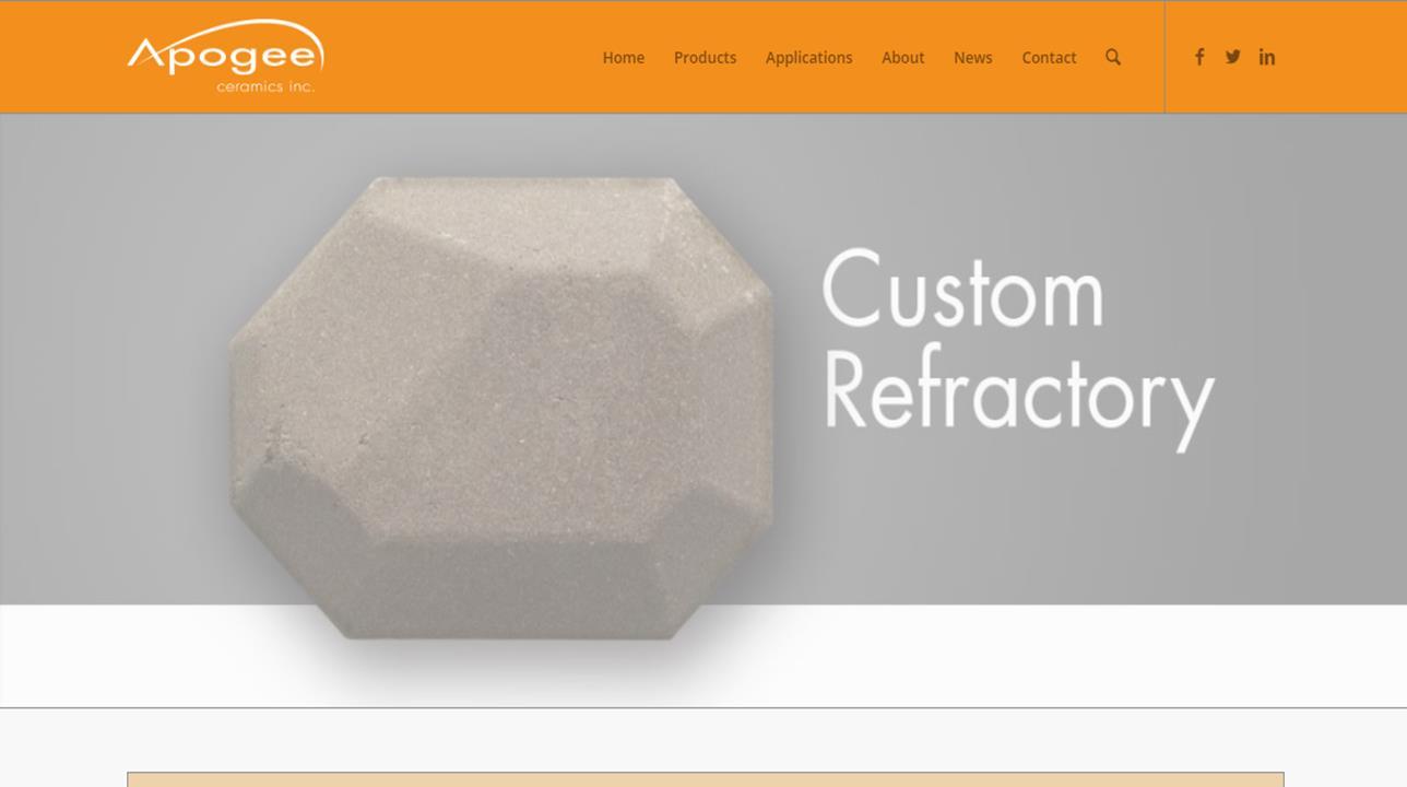 Apogee Ceramics Inc.