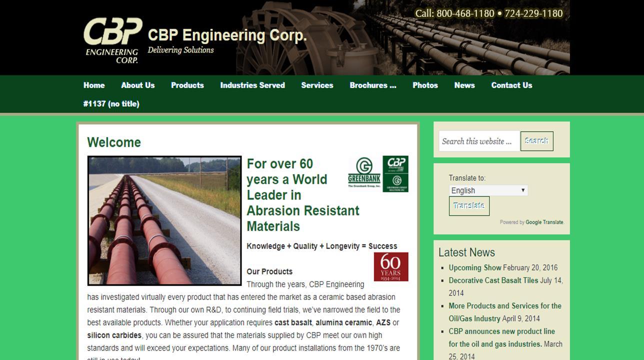 CBP Engineering, Corp.