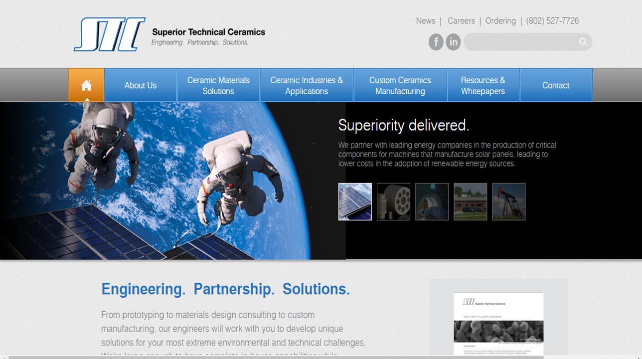 Superior Technical Ceramics Corp.