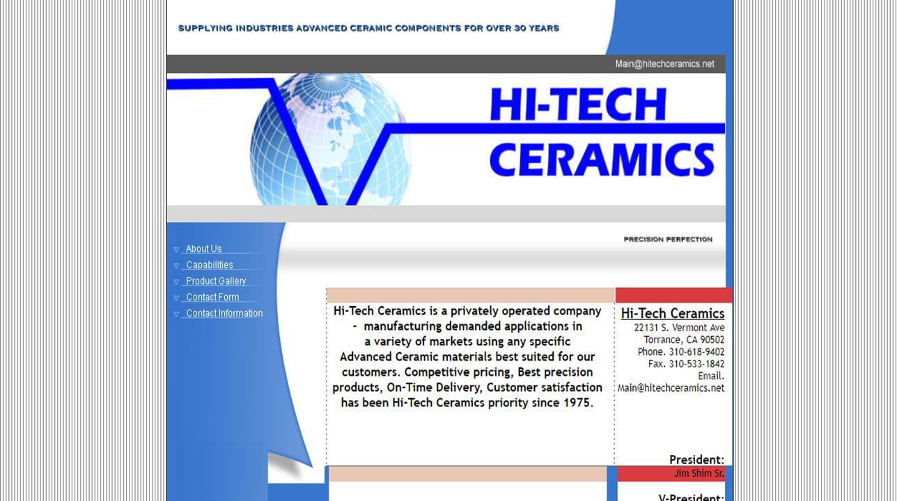 Hi-Tech Ceramics
