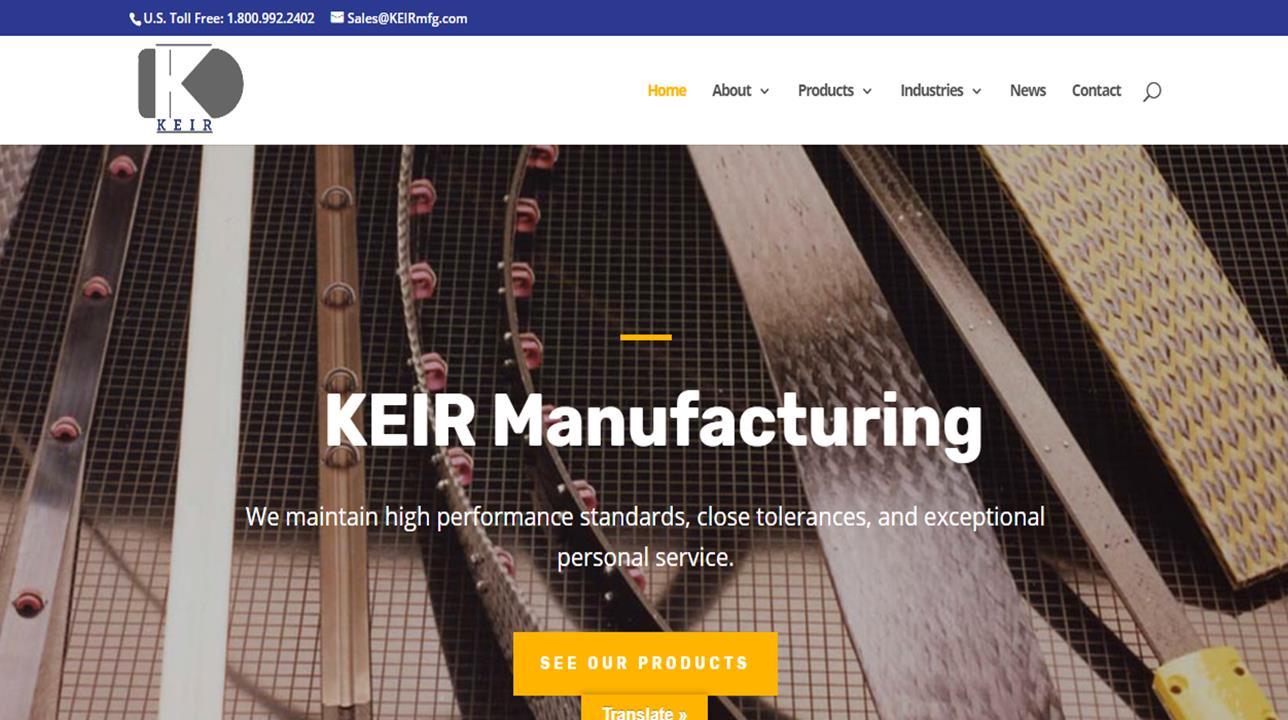 KEIR Manufacturing, Inc
