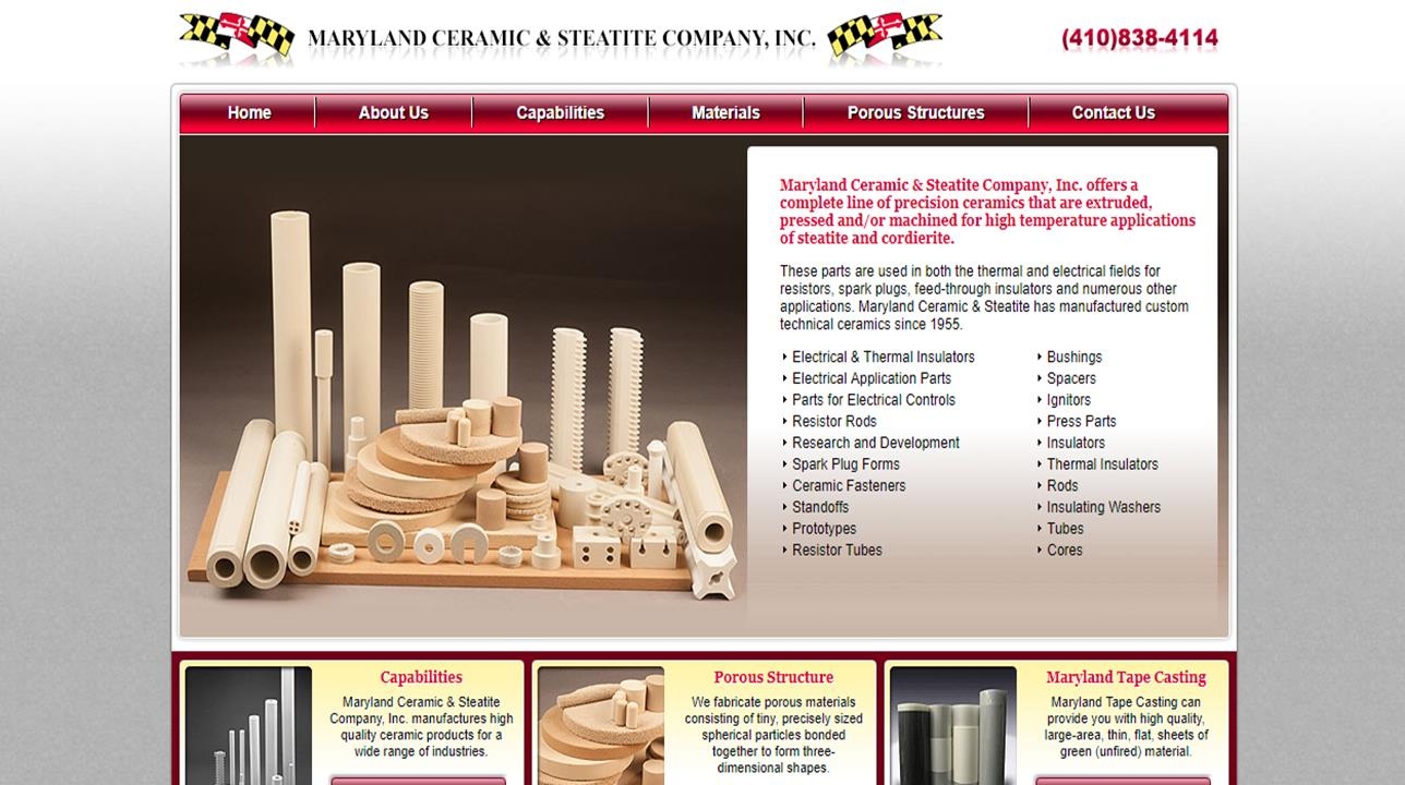Maryland Ceramic & Steatite Company, Inc.