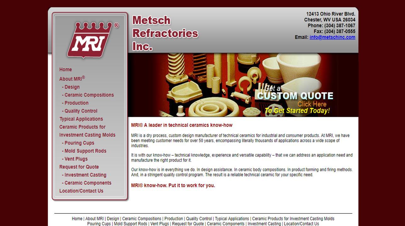 Metsch Refractories Inc.