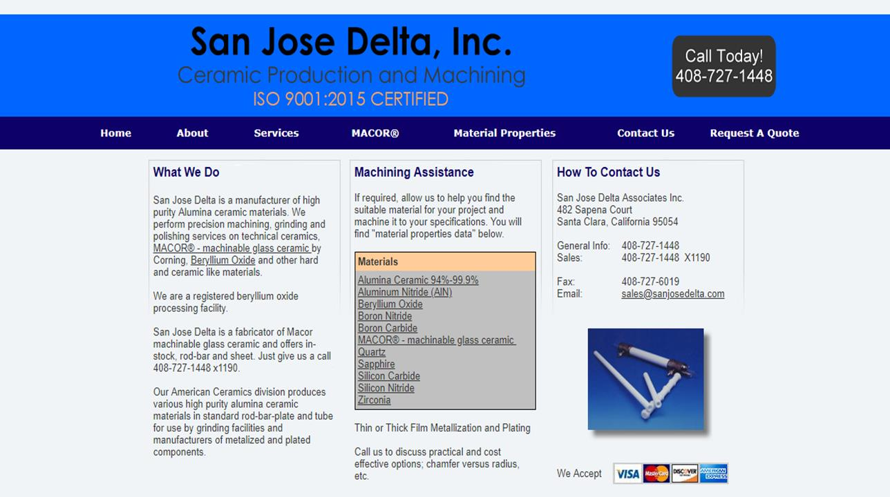 San Jose Delta Associates, Inc.