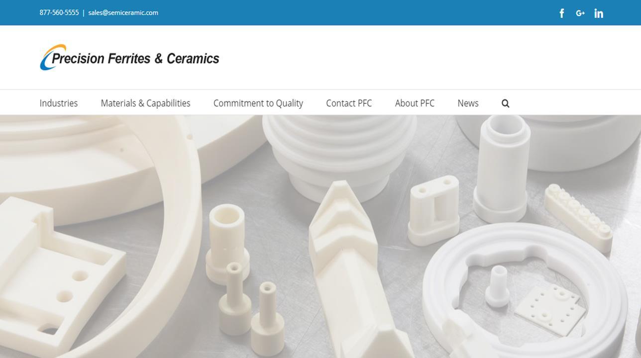 Precision Ferrites & Ceramics Inc.