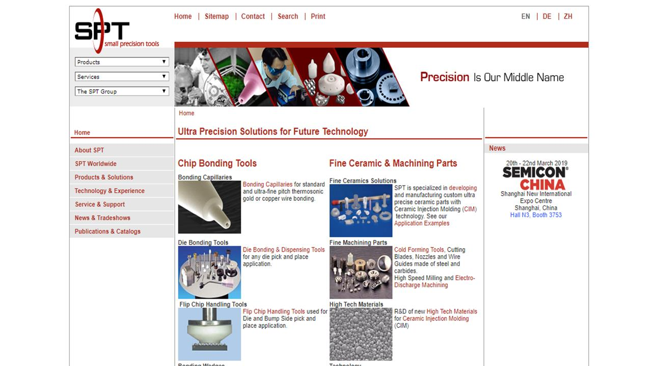 Small Precision Tools Inc.