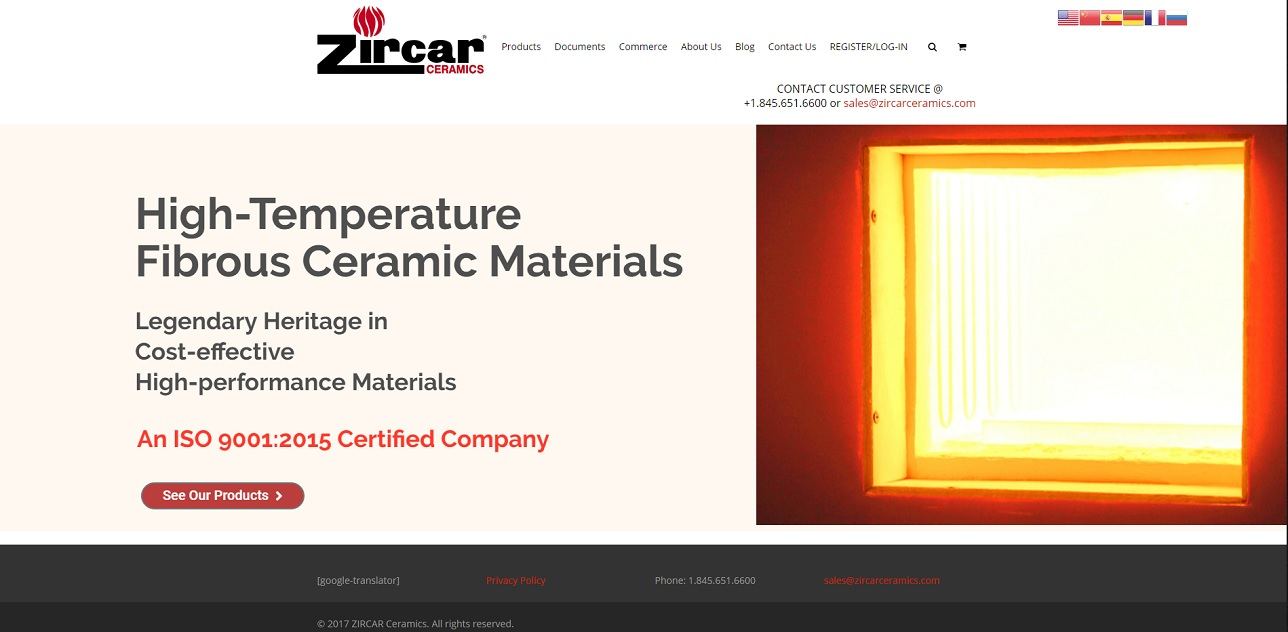 ZIRCAR Ceramics, Inc.