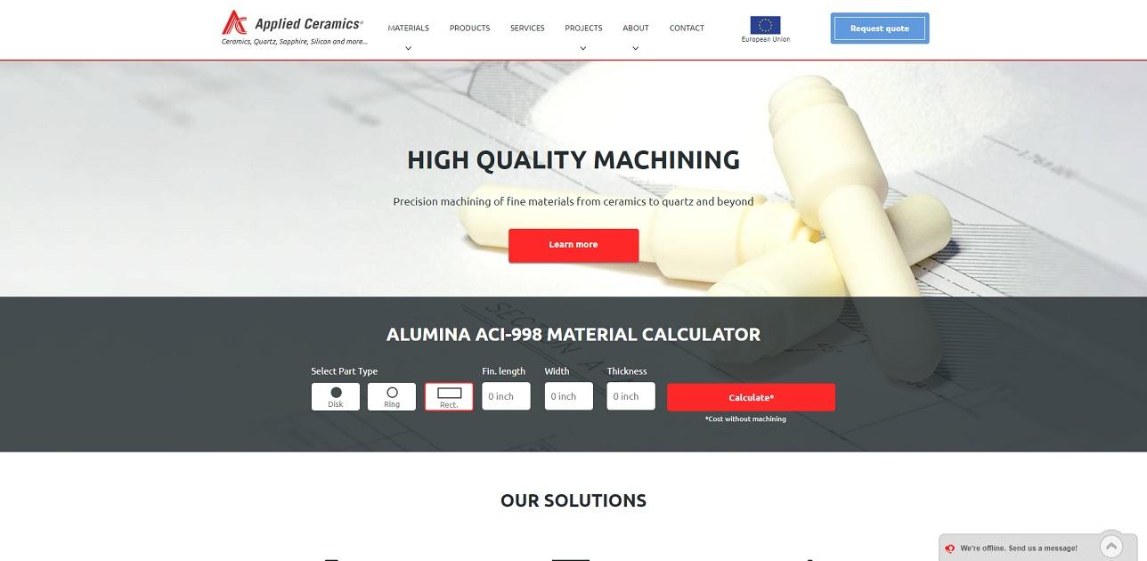 Ceramic Manufacturing Companies Services