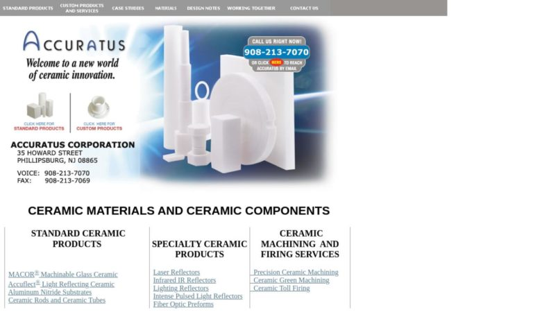 Accuratus Ceramic Corporation