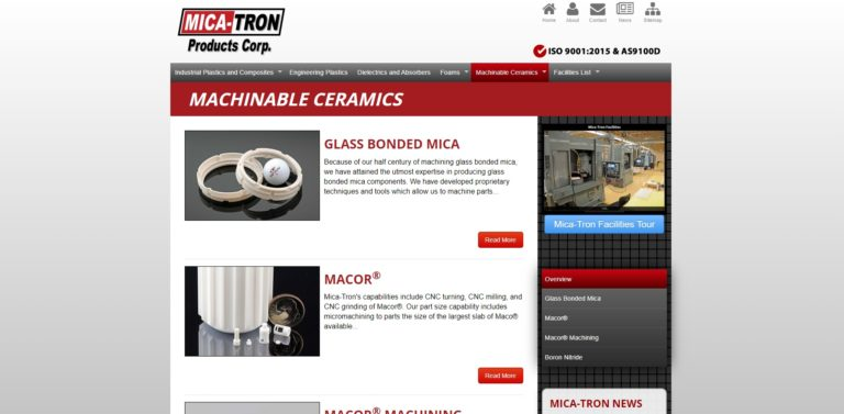 Mica-Tron Products Corp.