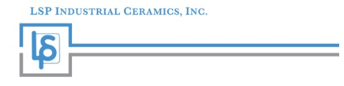 LSP Industrial Ceramics, Inc. Logo